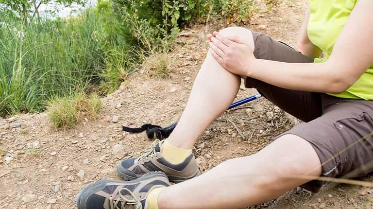 ハイキング・軽登山でよくあるケガとは